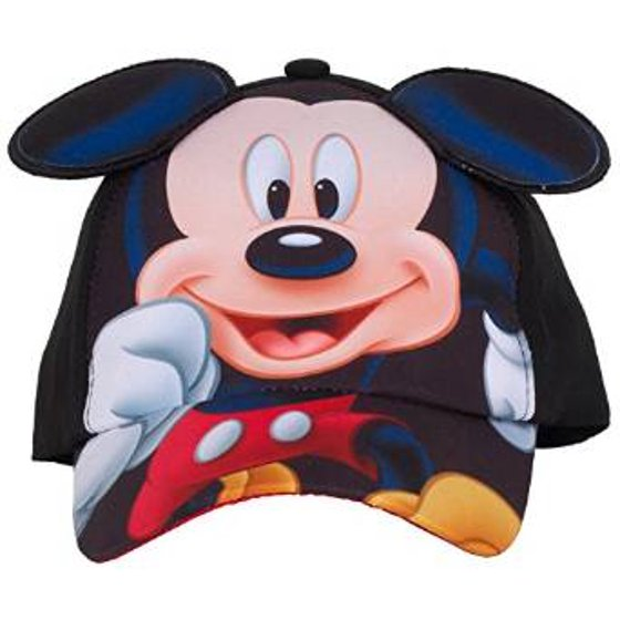 1e93a51f747 Mickey Mouse - Baseball Cap - Disney - Mickey Mouse Ears Kids Youth Hat New  243576 - Walmart.com