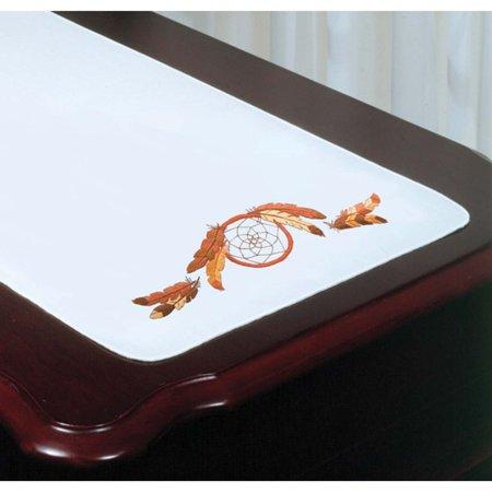 Design Works™ Dream Catcher Dresser Scarf Stamped - Rapunzel Embroidery Design
