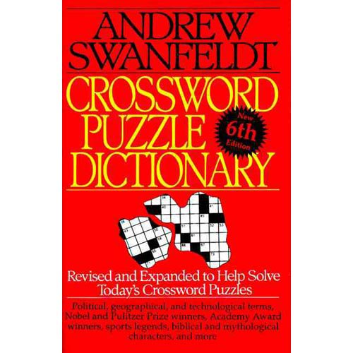 Crossword Puzzle Dictionary  sc 1 st  Walmart.com : the crossword dictionary - 25forcollege.com