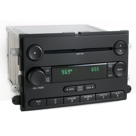 Ford Mustang 2007 Radio AM FM Single CD Player Factory Original 7R3T-18C869-AF - Refurbished (2007 Mustang Weather Tech)