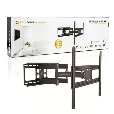 Full Motion TV Wall Mount for 37-70 inch Curved/Panel TVs up to VESA 600 and 110 Lbs - image 8 of 9