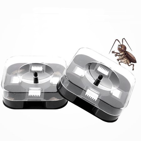 New Automatic Cockroach House Insects Bugs Capture Bait Trap Killer Catcher Box