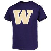 Washington Huskies Russell Athletic Youth Oversized Graphic Crew Neck T-Shirt - Purple