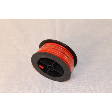 10 AWG copper strand wire - 17 feet per spool - red ()