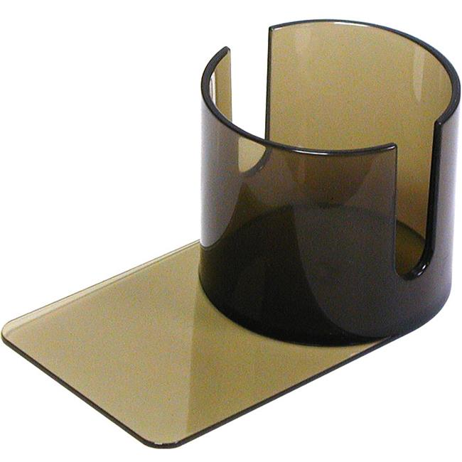 Plastic Cup Holder Smoke- Slide under with Cutouts by Trademark Poker