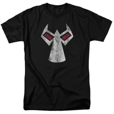 Batman-Bane Mask - Short Sleeve Adult 18-1 Tee - Black, 5X - Bane Mask Sale