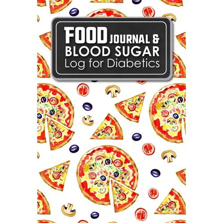 Food Journal Blood Sugar Log For Diabetics Blood Glucose Chart Diabetes Blood Check Food Diary Diabetic Walmart Com Walmart Com