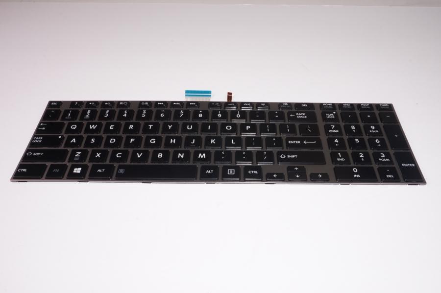 PC Parts Unlimited K000139350 Keyboard,US,Black