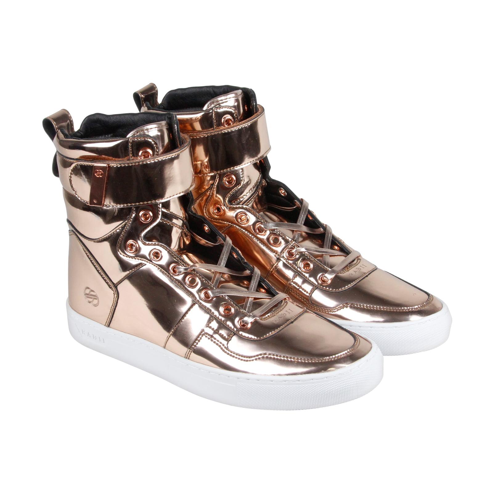 rose gold sneakers mens