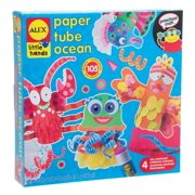 ALEX Toys Little Hands Paper Tube Ocean- Kids Craft Kit -Arts and Crafts
