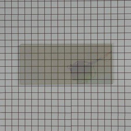 486969 Thermador Wall Oven Glass Door Inner Dblack Coat