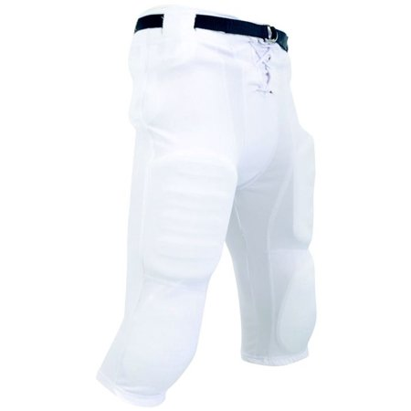 Champro Adult Slotted Football Pants - White