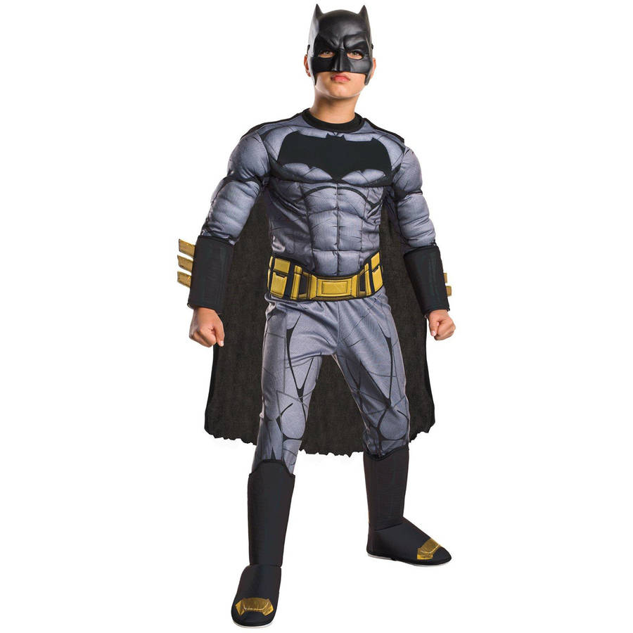Batman Vs Superman: Dawn of Justice Deluxe Batman Child Halloween Costume
