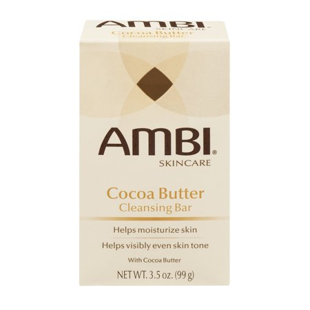 Image of AMBI Cocoa Butter Cleansing Bar, 3.5 OZ