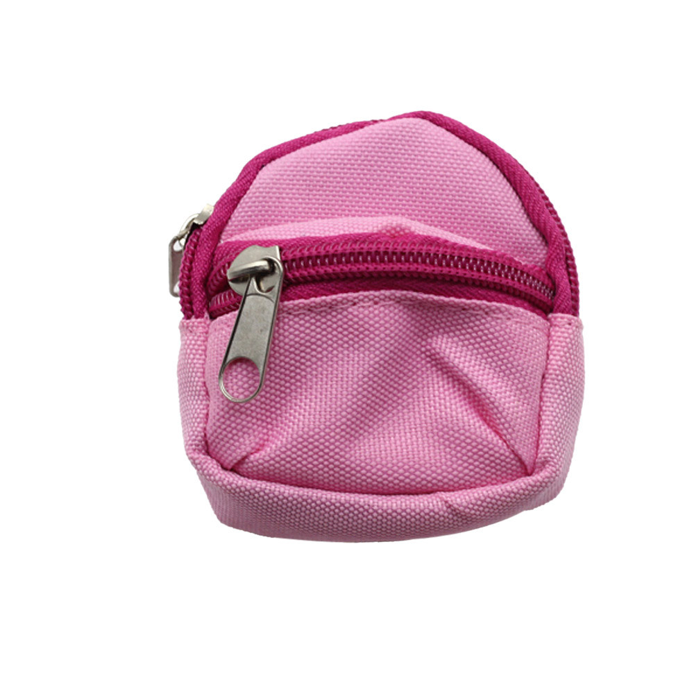 DZT1968 Mini Schoolbag Backpack Rucksack Accessory For Barbie Doll Clothing