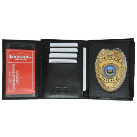 Badge Wallet 2516TA Black