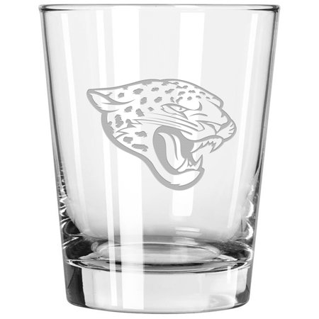 Jacksonville Jaguars 15oz. Etched Double Old Fashioned Glass - No Size