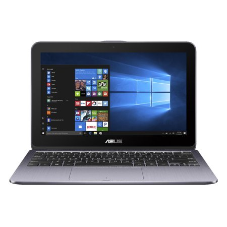 Asus Vivobook Flip 12  2 In 1  Touchscreen  Dual Core Celeron  4Gb Ram  500Gb Hard Drive  Windows 10 Home  Finger Print Reader  Asus Stylus Pen Included