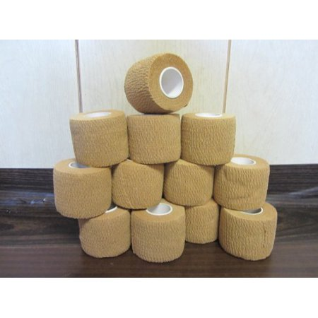 Self Adhesive Non Woven Cohesive Bandage Pack of 6