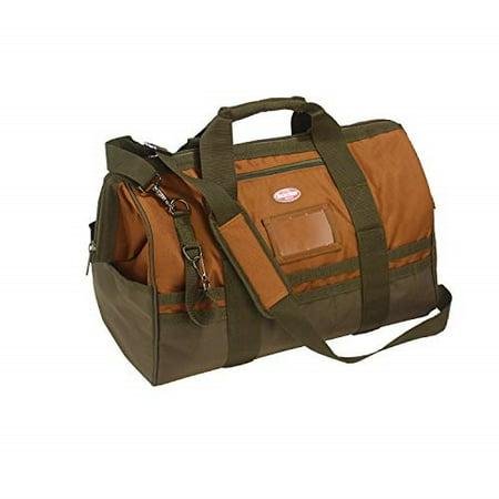 bucket boss gatemouth 20 tool bag in brown, 60020
