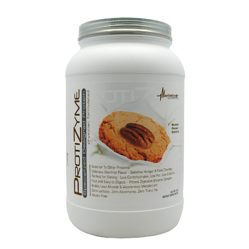 Metabolic Nutrition Protizyme - Butter Pecan Cookie - 2 l...