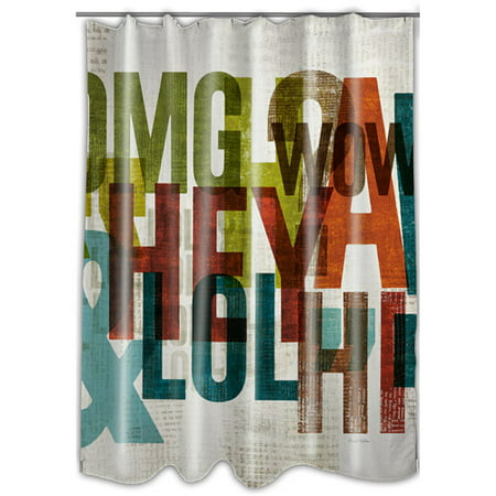 MOD Home Punctuated Shower Curtain