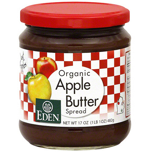 Eden Apple Butter Spread, 17 oz (Pack of 12)