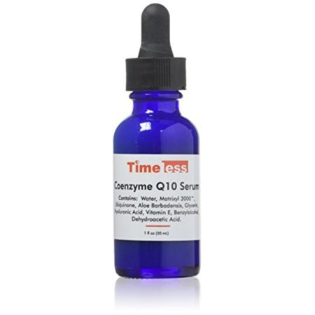 Timeless skin care Coenzyme Q10 Serum + Matrixyl + Hyaluraonic Acid