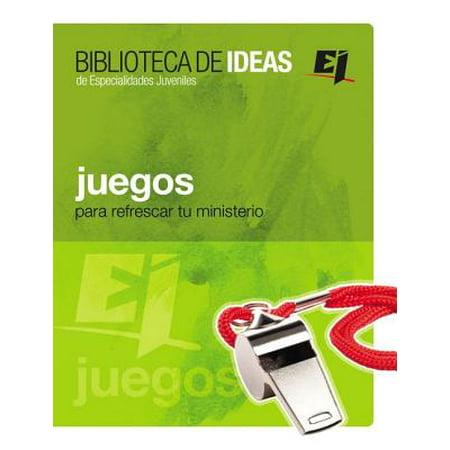Especialidades Juveniles / Biblioteca de Ideas: Juegos: Biblioteca de Ideas: Para Refrescar Tu Ministerio (Paperback) - Ideas Para Halloween Fiesta
