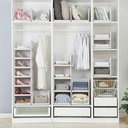 3-Cube Storage Organizer, Stackable Plastic Cube Storage Shelves Design  Multifunctional Modular Closet Cabinet for Bedroom Kitchen Office Living  Room ...
