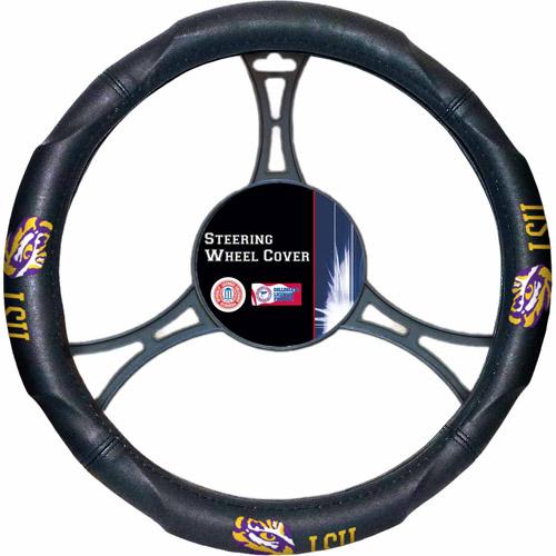 NCAA Steering Wheel Cover, LSU