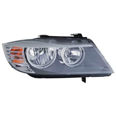 Go-Parts » 2009 - 2011 BMW 328i xDrive Front Headlight Headlamp Assembly Front Housing / Lens / Cover - Right (Passenger) Side - (E90 Body Code; Sedan + E90 Body Code; Wagon + E91 Body Code; Sedan) (2011 Bmw 328i Xdrive Accessories)