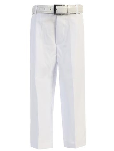 Big Boys Khaki Flat Front Formal Special Occasion Dress Pants 8-18