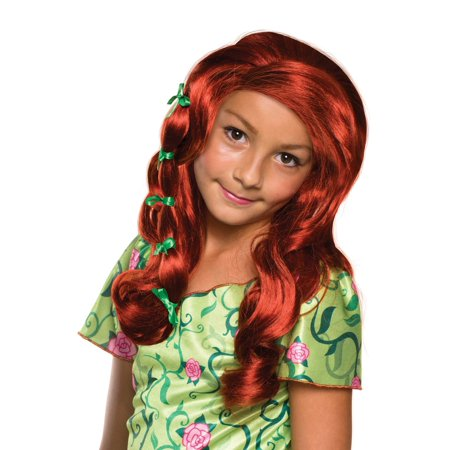 DC Superhero Girls: Poison Ivy Child Wig Halloween Accessory