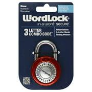 Wordlock 4.5 in. H x 2.25 in. W x 2-1/4 in. L Steel 3-Digit Combination Padlock 1 pk - Case Of: 1; Each Pack Qty: 1