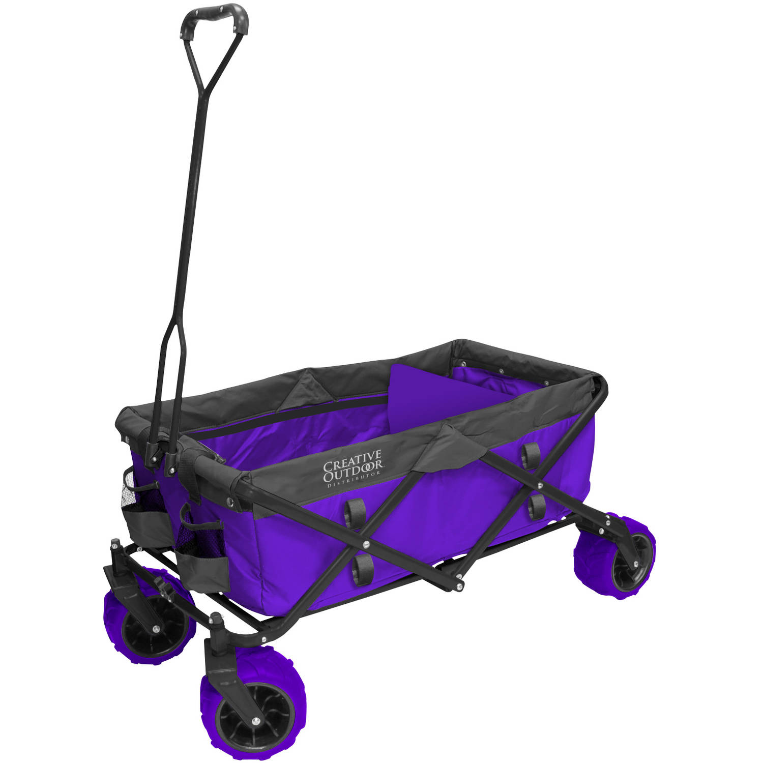 Fold Wagon All Terrain Purple Grey by Creative Outdoor Distributors