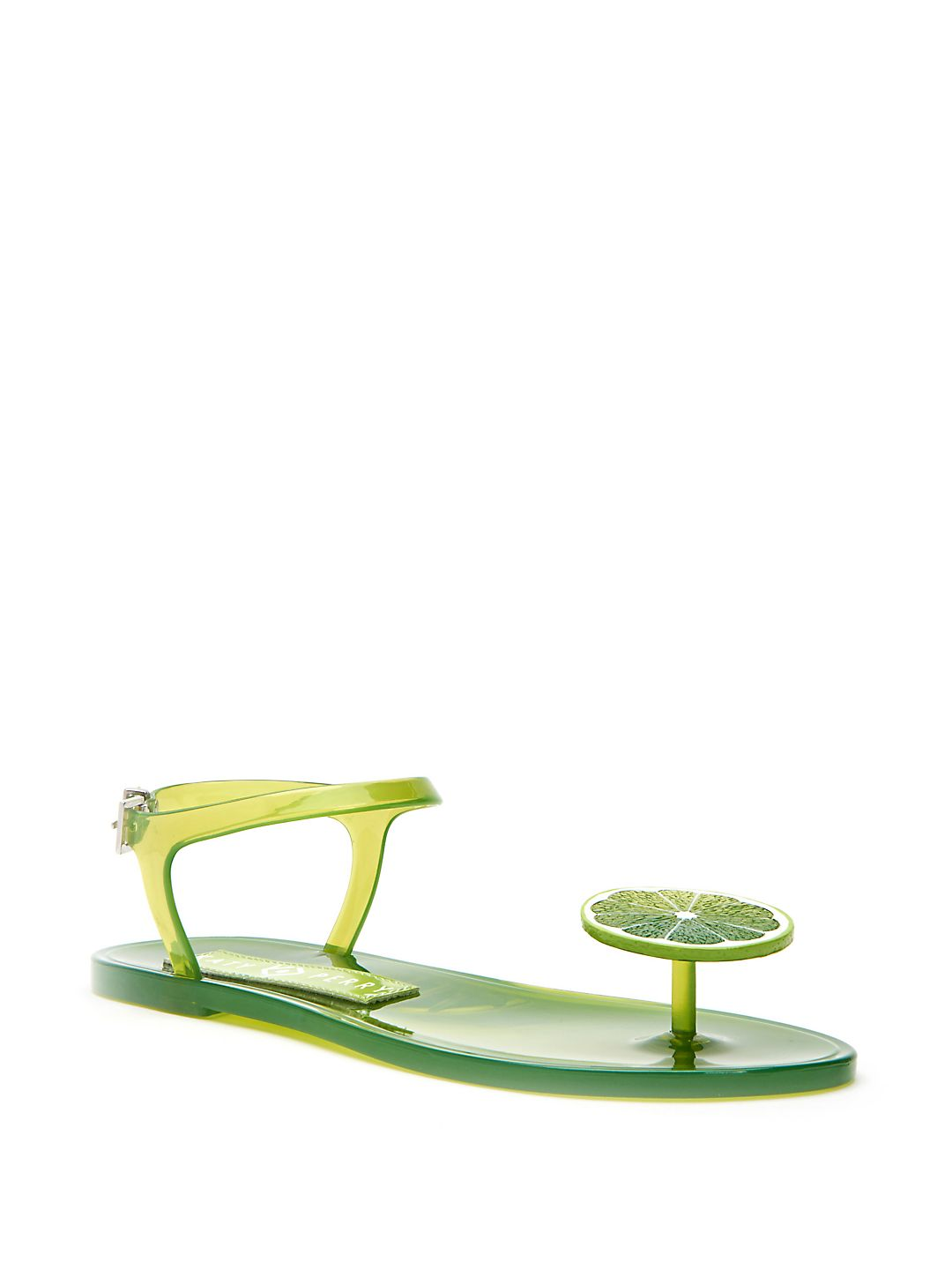 Geli Ankle-Strap Jelly Sandals