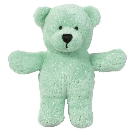 Tiny Magnetic Stuffed Bear  Ganz Sparkle Bear Magnet Mates  Green