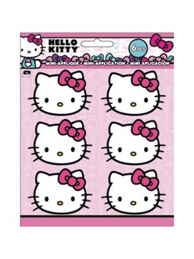 8267f63ad0 Product Image Patch Set - Hello Kitty - Head Shot Iron On New Toys Licensed  p-hk