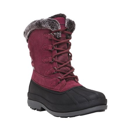 Women's Propet Lumi Tall Lace Duck Boot