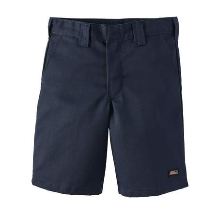 Genuine Dickies School Uniform Shorts with Multi Use Pocket (Big Boys & Little Boys)](Black Ruffle Boy Shorts)