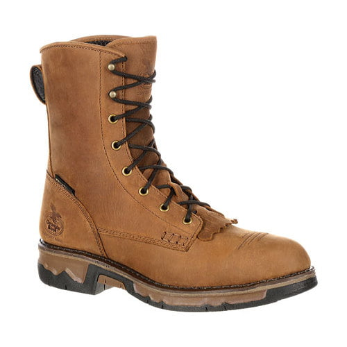 "Men's Georgia Boot GB00114 8"" Carbo Tec Lacer Waterproof Work Boot by Georgia Boot"