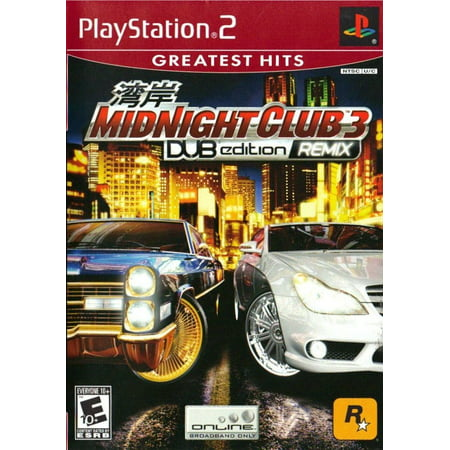 Midnight Club 3: DUB Edition Remix - PS2 (Refurbished) ()