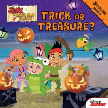 Jake and the Never Land Pirates Trick or Treasure? : Stickers Inside! - Jake Neverland Pirates Halloween