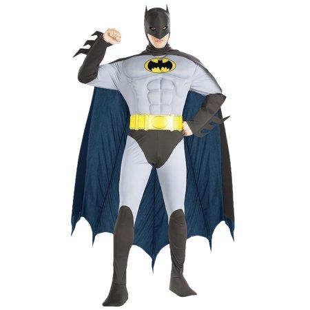 Rubies 56120LG Batman Musc Chest Adult Lg](Batman Mens Costume)