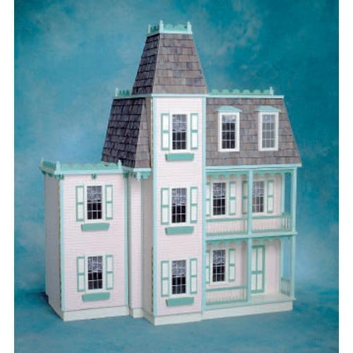 Real Good Toys Front-Opening Alison Jr Dollhouse Kit - 1 Inch Scale