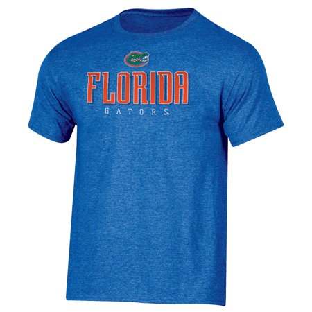 Men's Russell Royal Florida Gators Basic Logo Crew Neck (Florida Gators Glitter)