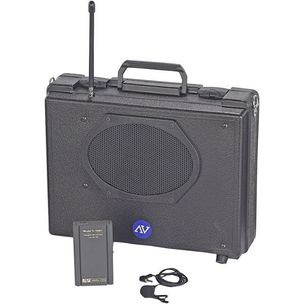 "Amplivox Sound Sw222 ""portable Buddy"" Public Address System"