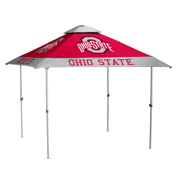 Ohio State Buckeyes Pagoda Canopy (No Lights)