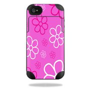 Mightyskins Protective Vinyl Skin Decal Cover for Mophie Juice Pack Plus iPhone 4 / 4S External Battery Case wrap sticker skins Flower Power